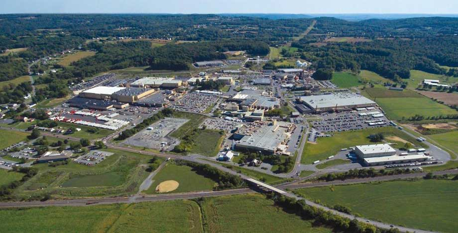 East Penn Manufacturing arial view